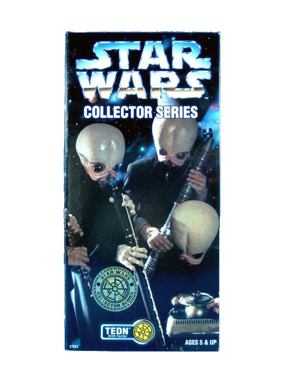 "1997 Star Wars POTF2 12"" CANTINA BAND TEDN Sealed"